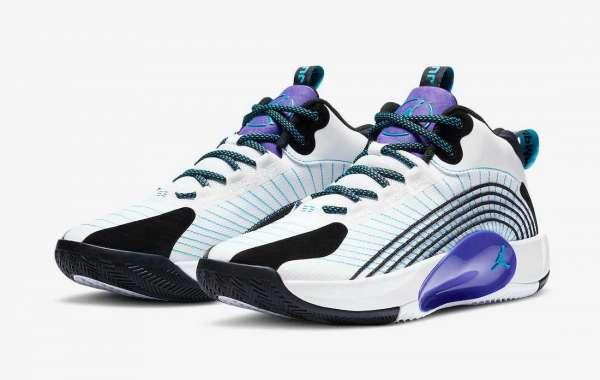 "Latest CQ4229-101 Jordan Jumpman 2021 PF ""Grape"" Basketball Shoes"