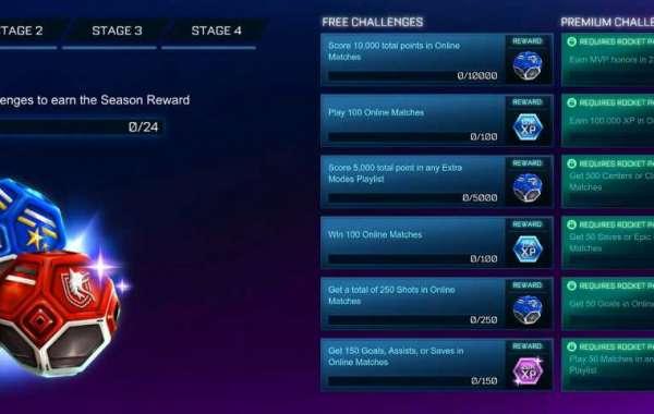 Rocket League Season 2 Challenges