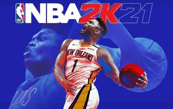NBA 2K21 MT Pelicans forward Zion Williamson lands