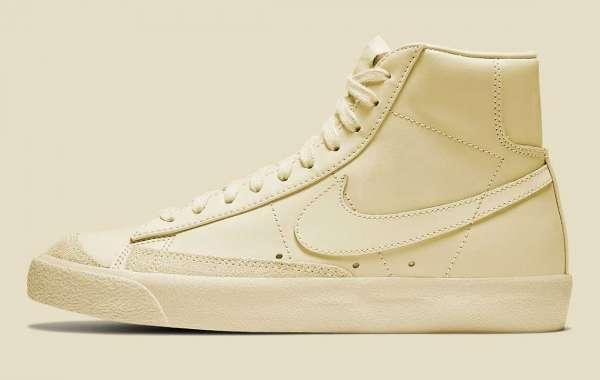 "CZ1055-116 Nike Blazer Mid '77 ""Coconut Milk"" is now available"
