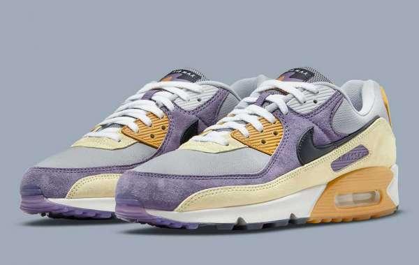 "Nike Air Max 90 ""Lemon Drop"" DC6083-500 will be released soon"